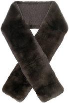 N.Peal fur neck-scarf