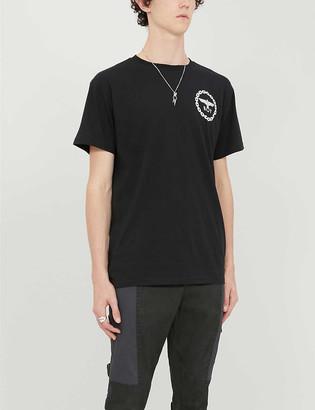 Boy London Graphic-print cotton-jersey T-shirt