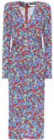 Rotate by Birger Christensen Heather floral crepe midi dress