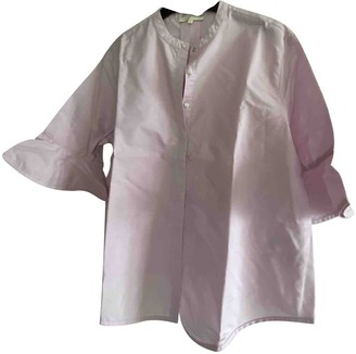 Maje Spring Summer 2019 Pink Cotton Top for Women