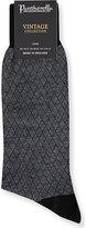 Pantherella Diamond Pattern Wool-blend Socks