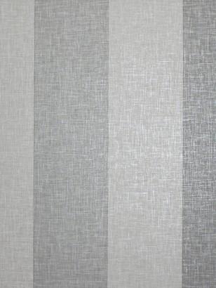 Arthouse Linen Stripe Grey Wallpaper