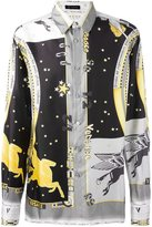 Versace Astrological print shirt