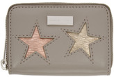 Stella McCartney Taupe Mini Stars Wallet