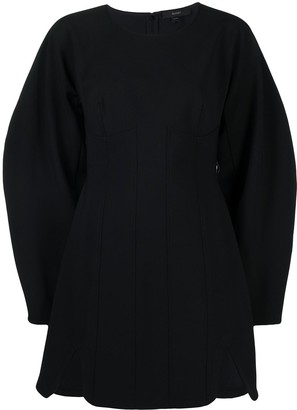 Ellery Balloon-Sleeved Mini Dress