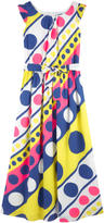 Moschino Long printed dress