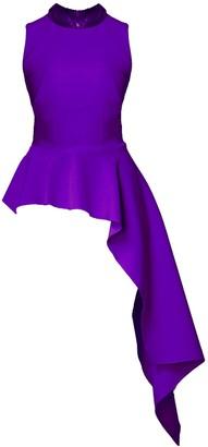 Freya Top Violet & Sequins