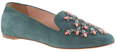 J.Crew Collection Darby jeweled loafers