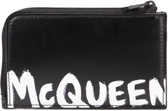 Alexander McQueen Large Zip Coin Card