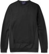 Undercover - Panelled Cotton-jersey Sweatshirt