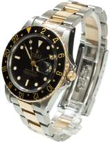 Rolex gmt-master stainless steel and black watch