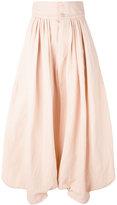 Chloé oversized trousers - women - Cotton/Linen/Flax - 40