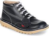 Kickers Kick Hi Leather Boots 9-10 Years