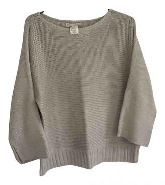 Fabiana Filippi Silver Cotton Knitwear