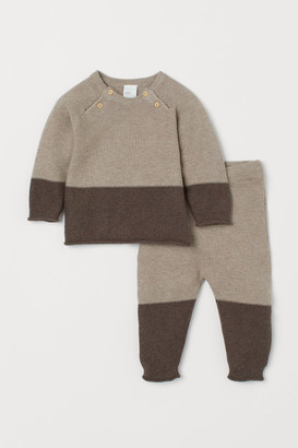 H&M Sweater and Pants - Beige