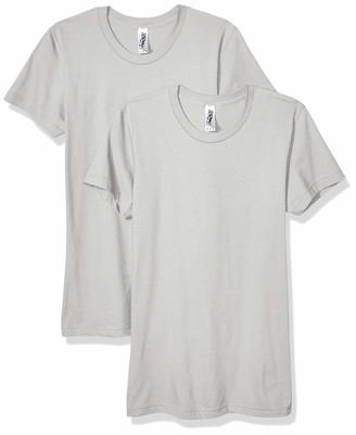 Marky G Apparel Women's Fine Jersey Short Sleeve T-Shirt (2 Pack)
