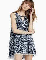Lucky Brand Pleat Front Flare Slip