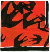 McQ by Alexander McQueen 'Swallow Swarm' scarf