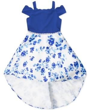 Speechless Little Girls Off-The-Shoulder High-Low Dress