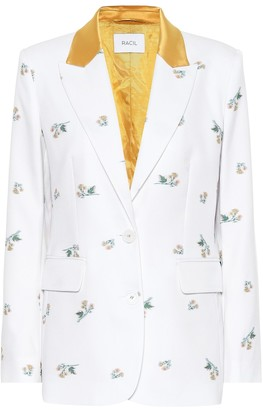 Racil George cotton-blend blazer