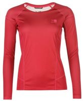 Karrimor Womens Aspen Long Sleeve Walking T Shirt Performance Top Crew Neck