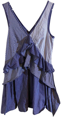 Opening Ceremony Blue Cotton Dresses