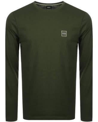 Boss Casual BOSS Casual Long Sleeved Tacks T Shirt Khaki