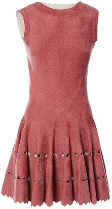 Alaia Pink Synthetic Dresses