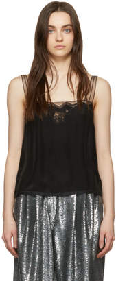 Marc Jacobs Black Lace Tank Top