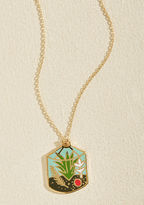 ModCloth Plant Accordingly Necklace