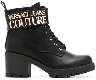 Versace Jeans Couture Branded Ankle Boots