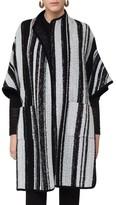 Akris Punto Women's Stripe Cape Topper