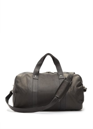 David King & Co A Frame Leather Duffle Bag