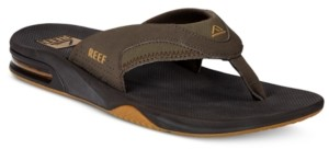 Mens Reef Fanning Sandals | Shop the