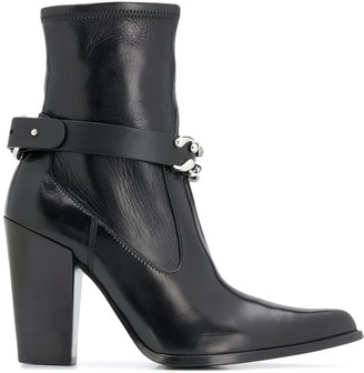 Ermanno Scervino Chain Strap Boots