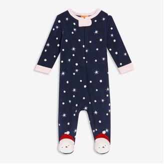 Joe Fresh Baby Girls' Footed Fleece Sleeper, Light Pink (Size 0-3)
