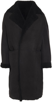 IRO Elson Reversible Oversized Shearling Coat