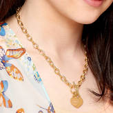 Charm & Chain Hurleyburley Personalised Gold Charm Chain Necklace