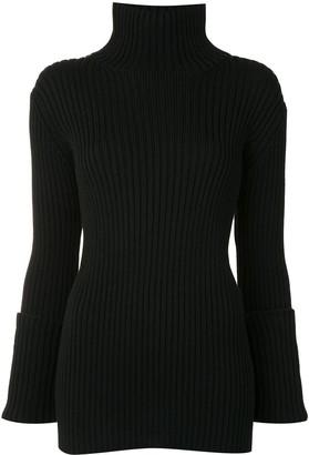 Yohji Yamamoto High Neck Knitted Jumper