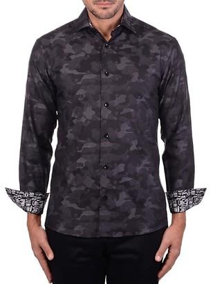Bertigo Camouflage Star Graphic Shirt