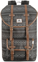 Steve Madden Men's Aztec Print Nylon Utility Backpack