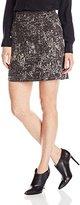 Nic+Zoe Women's Tailored Tapestry Skirt