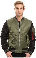 Alpha Industries MA-1 Varsity Flight Jacket Men's Coat