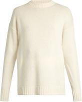 Joseph Self-tie fastening cashmere-knit sweater