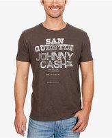 Lucky Brand Men's Johnny Cash San Quentin Graphic-Print T-Shirt