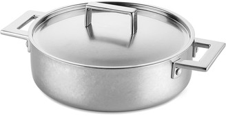 "Mepra 2-Handle 11"" Saute Pan with Lid"
