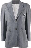 Miu Miu striped fitted blazer