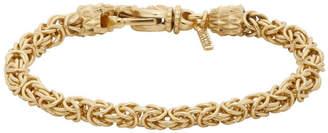 Emanuele Bicocchi Gold Byzantine Bracelet