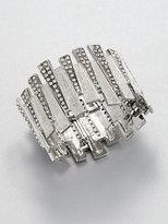 Ca&Lou Baguette-Shaped Cuff Bracelet