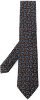 Etro paisley embroidered tie